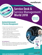 Service Desk & Service Management World 2018