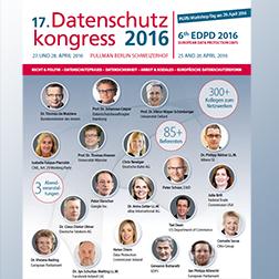 Datenschutz Kongress DSK16