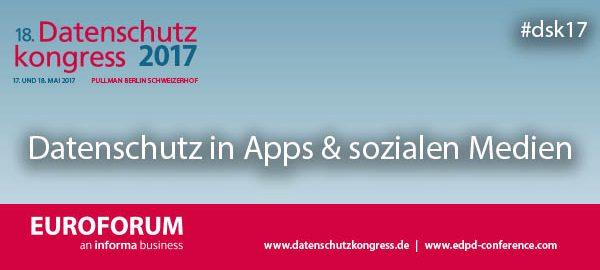 Datenschutz Social Media Apps Johannes Caspar