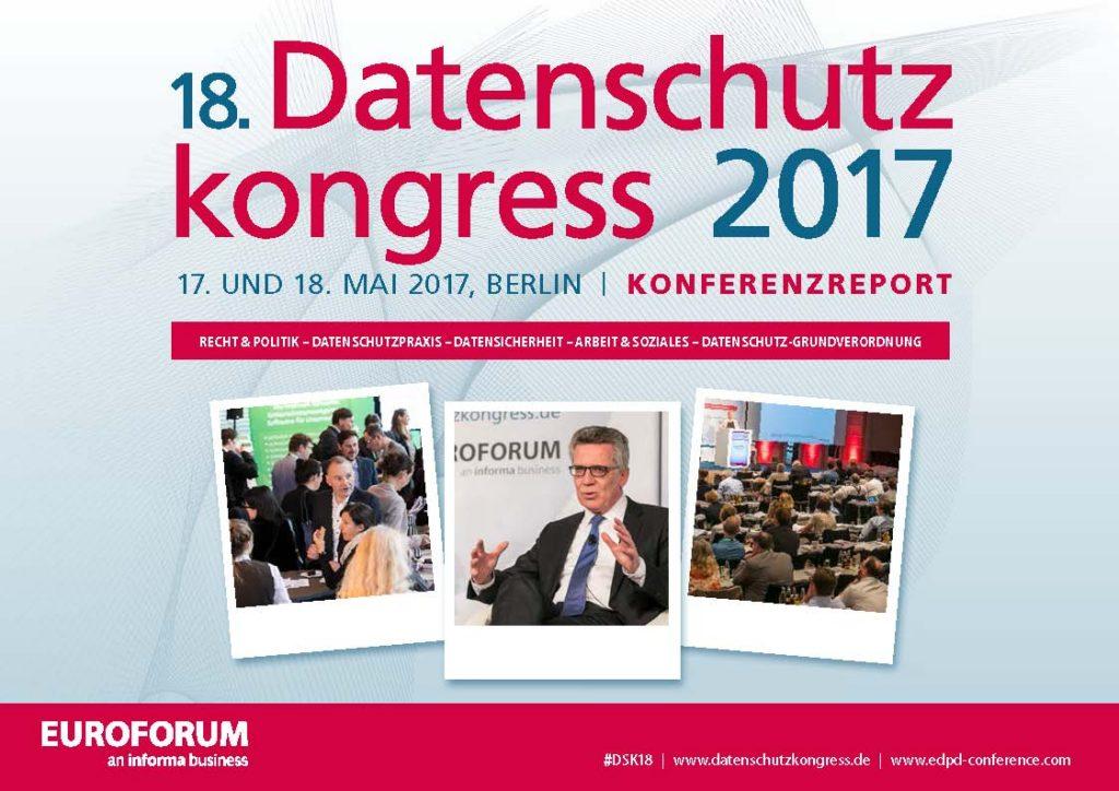 Konferenzreport Datenschutzkongress 2017