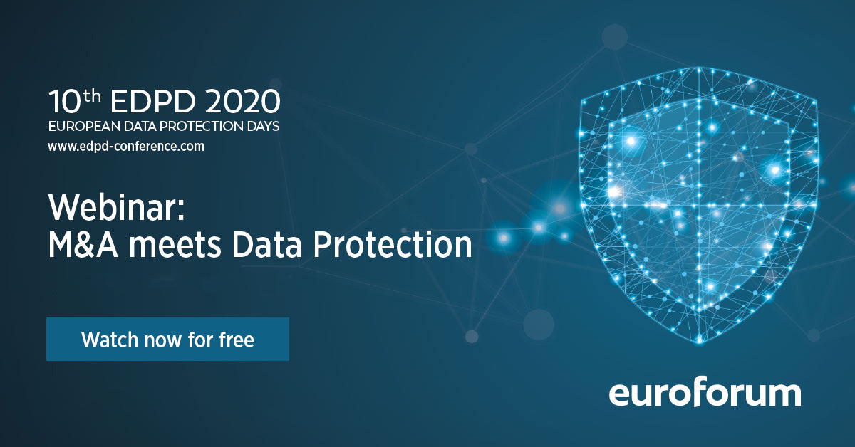 Webinar: M&A meets Data Protection