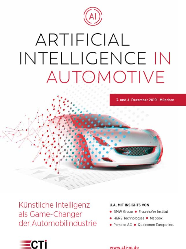 Programm AI in Automotive 2019