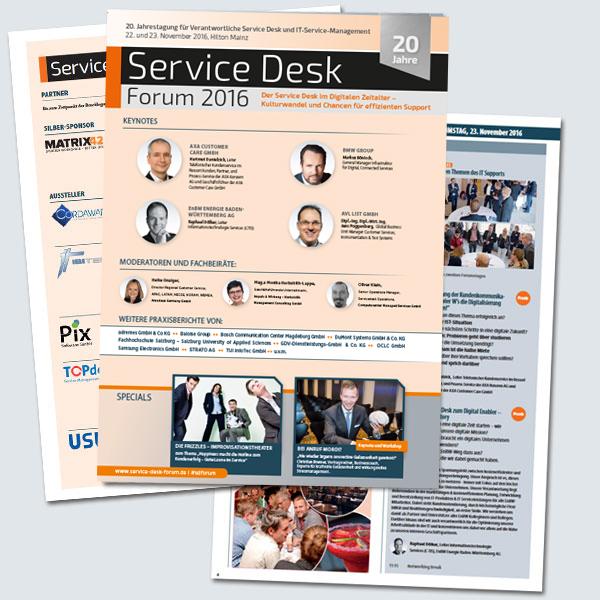 Service Desk Forum - b2-2016